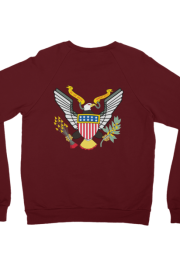 By The Wavs Presidential Crewneck