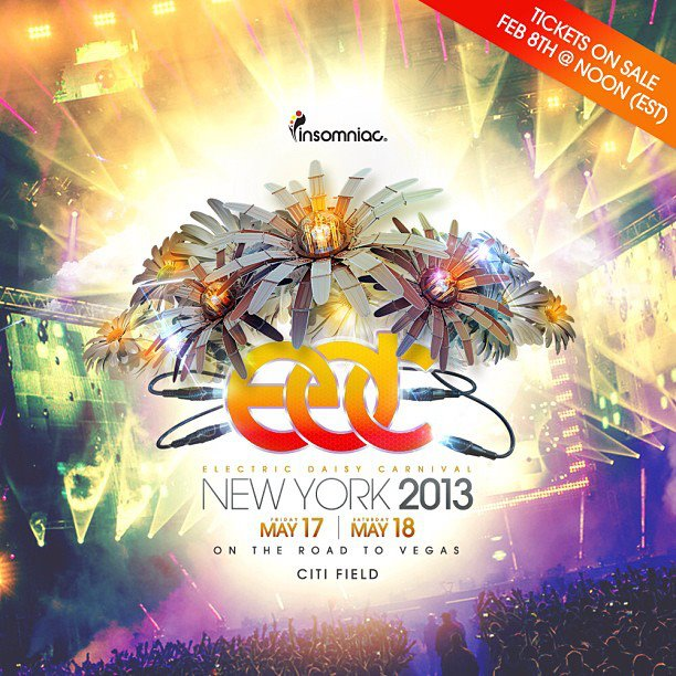 Electric Daisy Carnival New York 2013 Live Sets