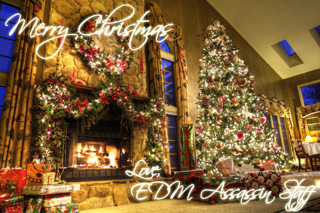 EDM Assassin Christmas Card