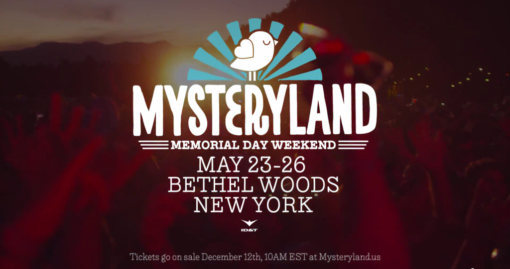 Mysteryland USA Festival Announces Dates at the Original Woodstock Location