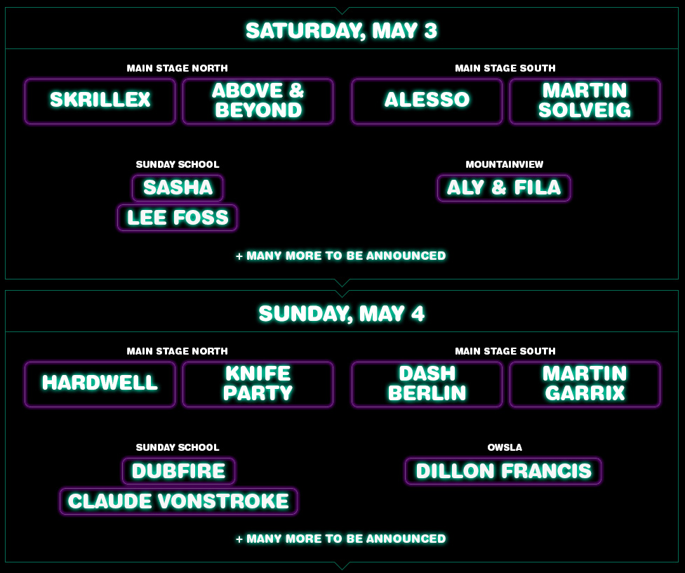 electric zoo mexico lineup phase 1