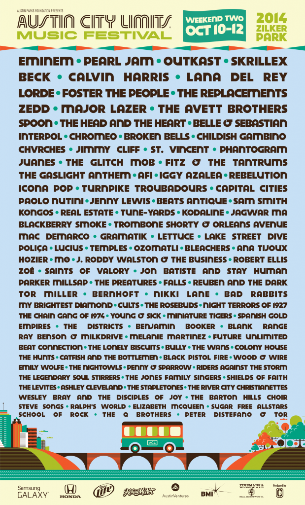 ACL2014-Lineup-Weekend2