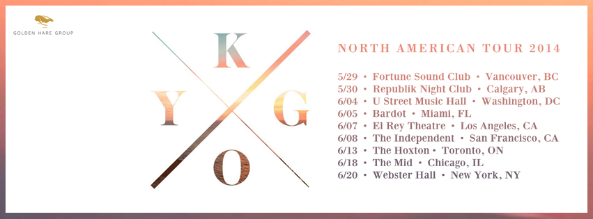 Kygo-North-American-Tour-20141