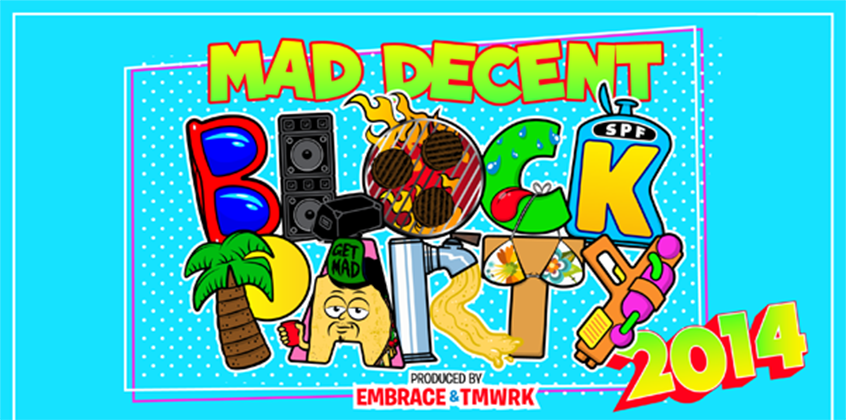 Mad Decent Block Party Announces 2014 Lineup
