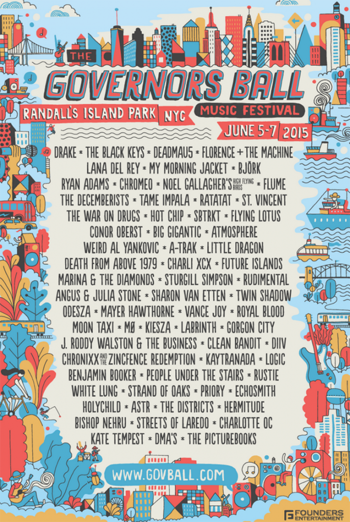 Governors Ball Lineup Announced   News   Pitchfork