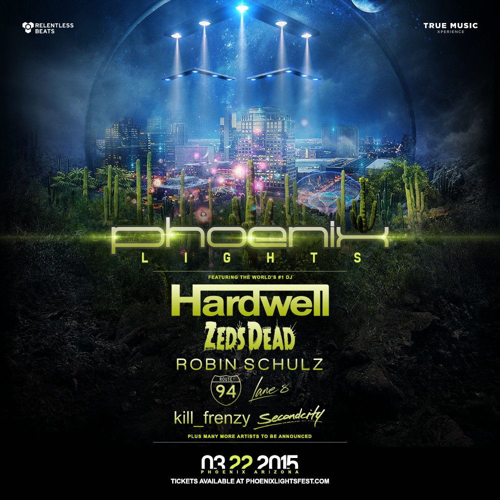 Phoenix Lights Announces Two Additional Artists