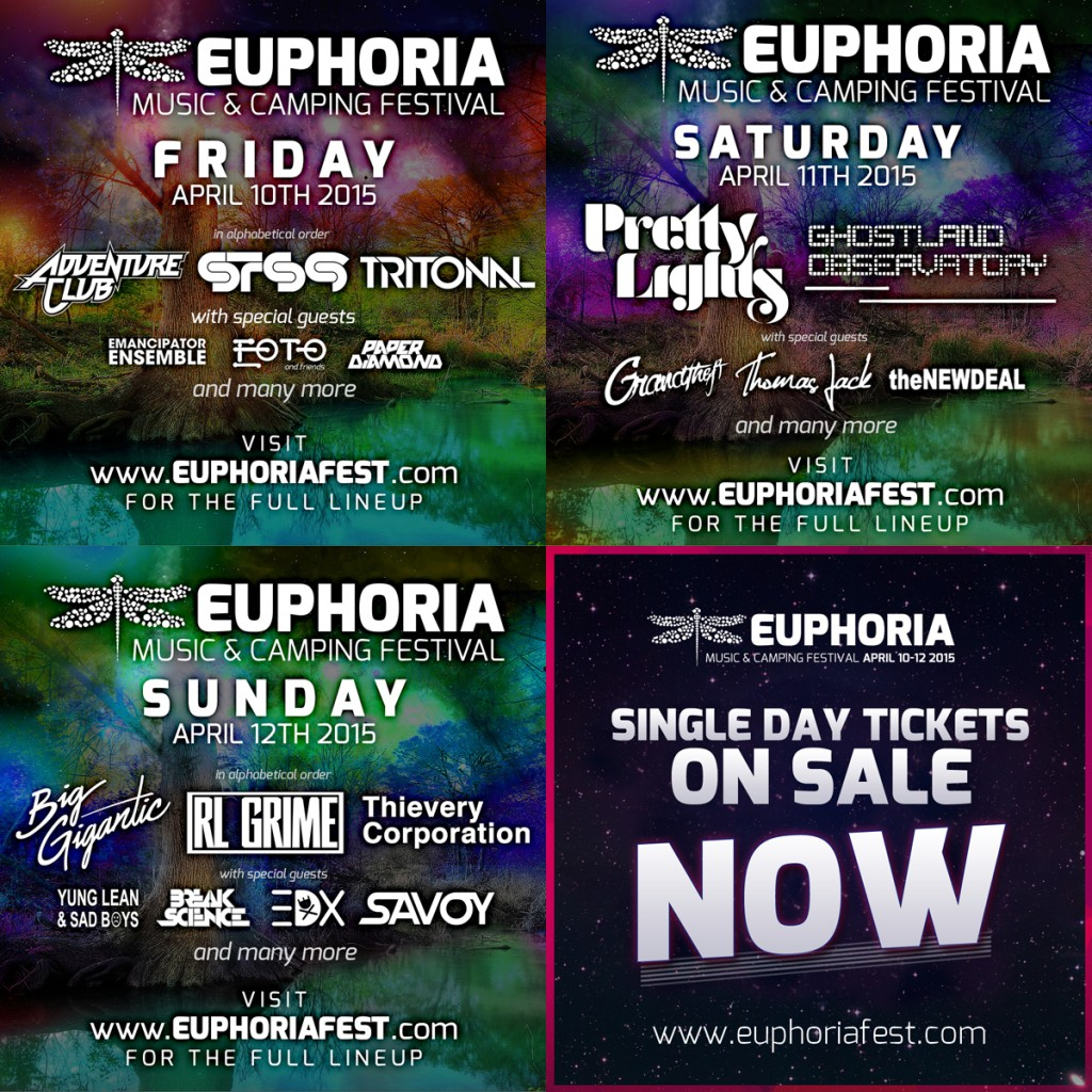 EUPHORIA SINGLE DAYS