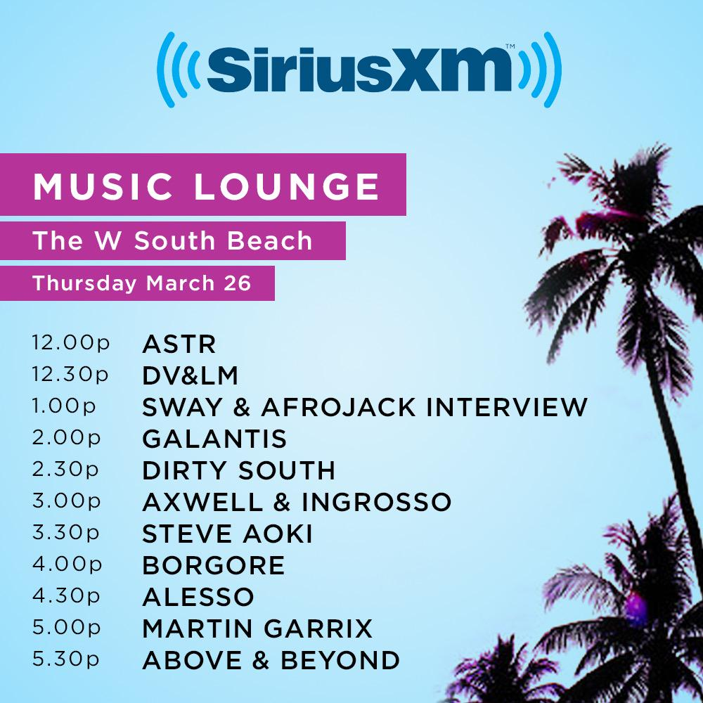 Miami Music Week – Miami Music Lounge Live Sets