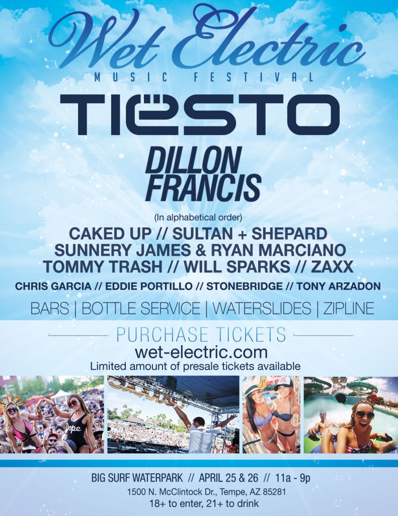 [Event Preview] Wet Electric Music Festival