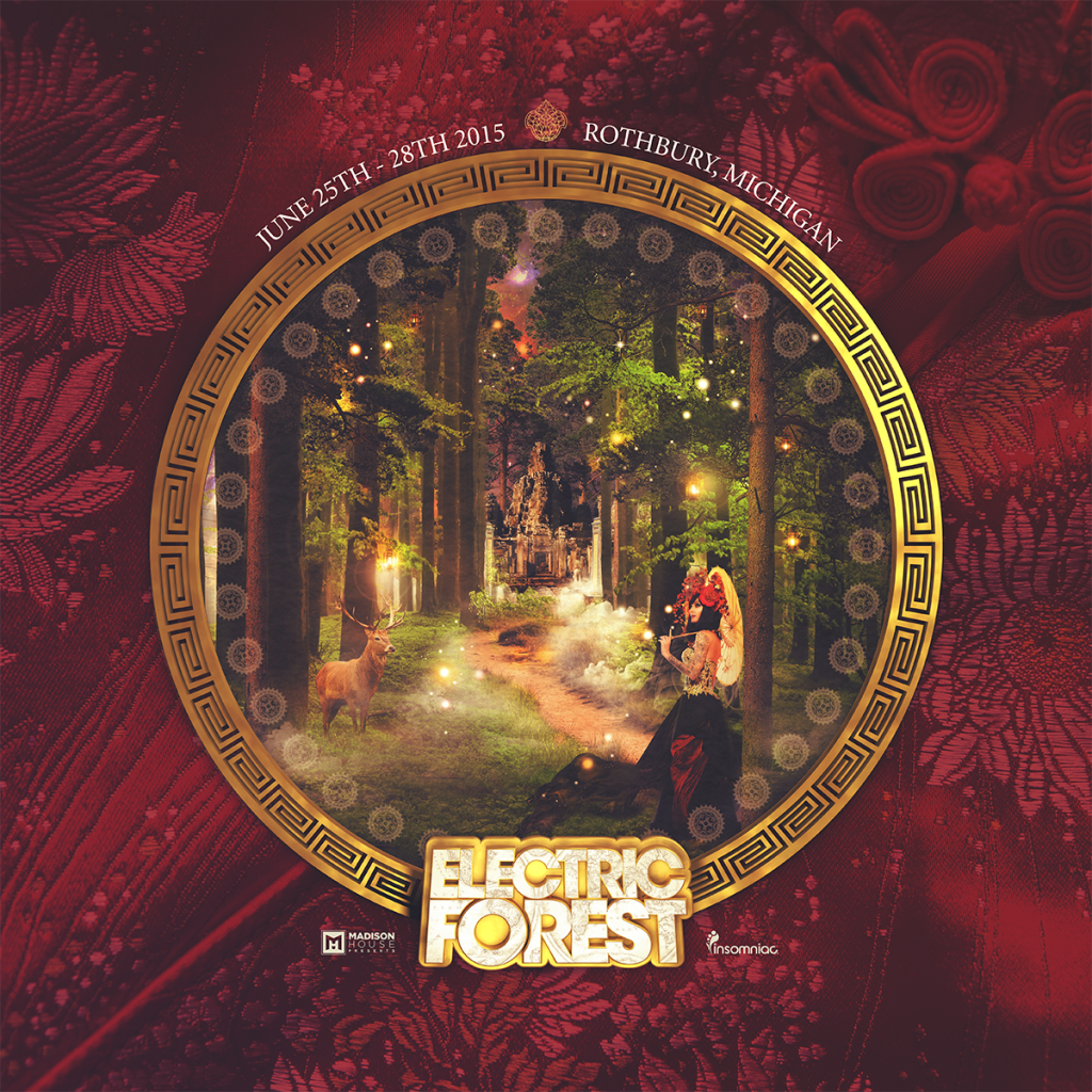 Electric Forest Announces 2015 Phase 2 Lineup and Six Curated Stages