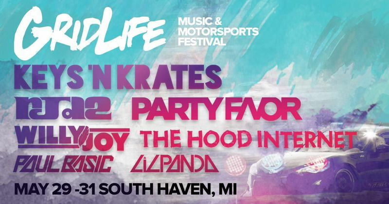 Win Two Tickets to #GRIDLIFE Music & Motorsports Festival 2015