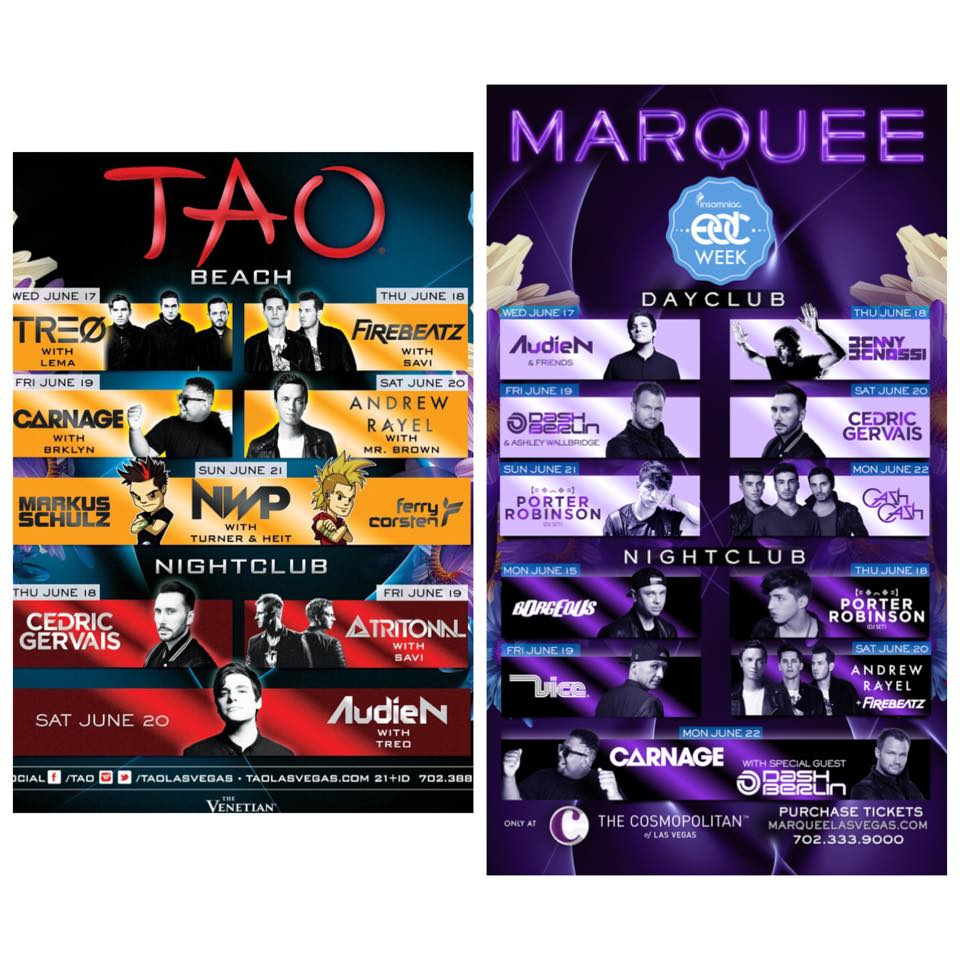 Tao and Marquee