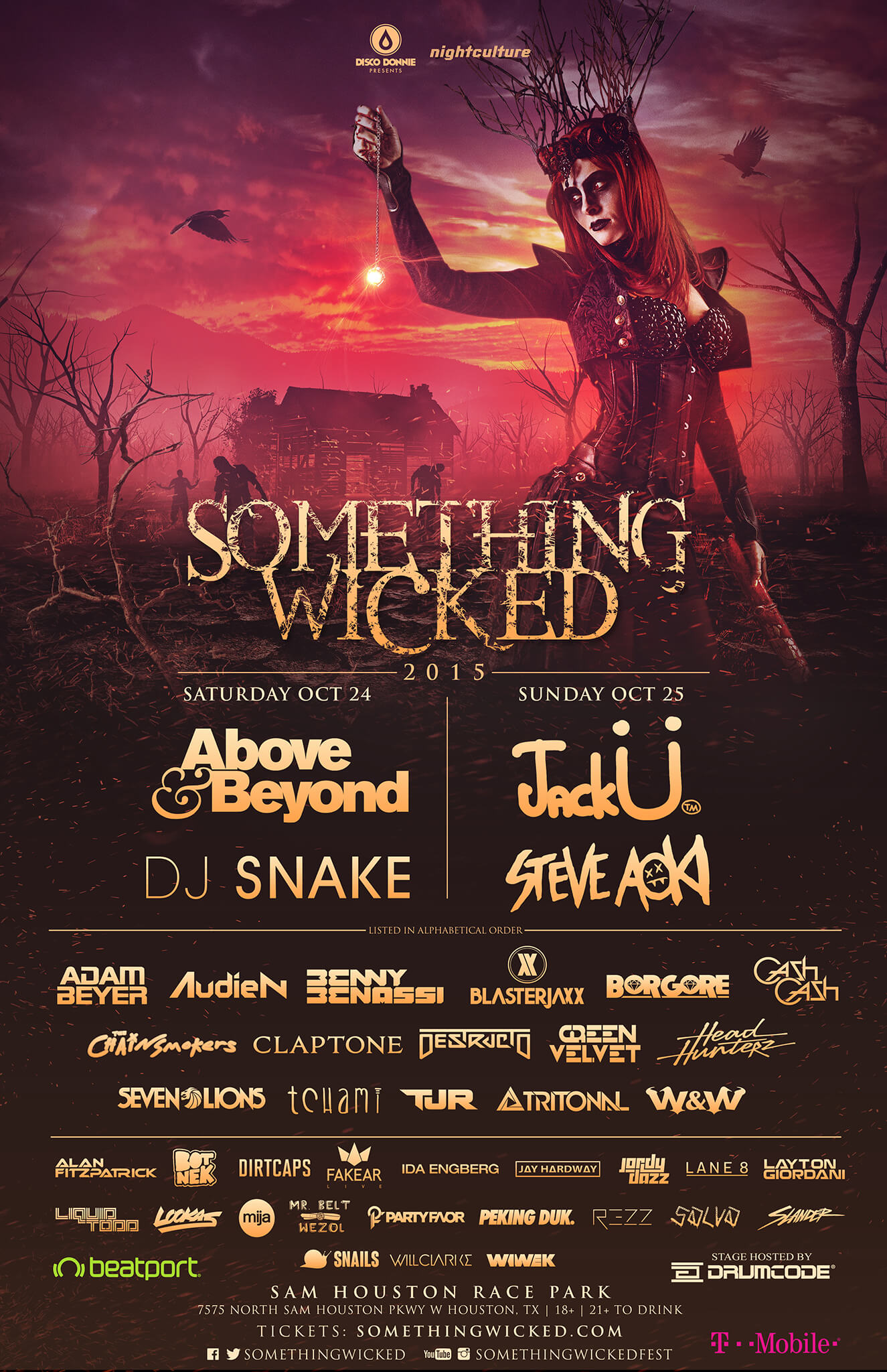 something wicked lineup