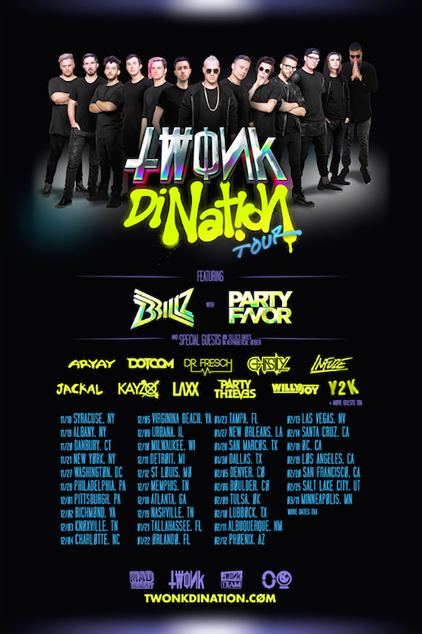 brillz-twonk tour