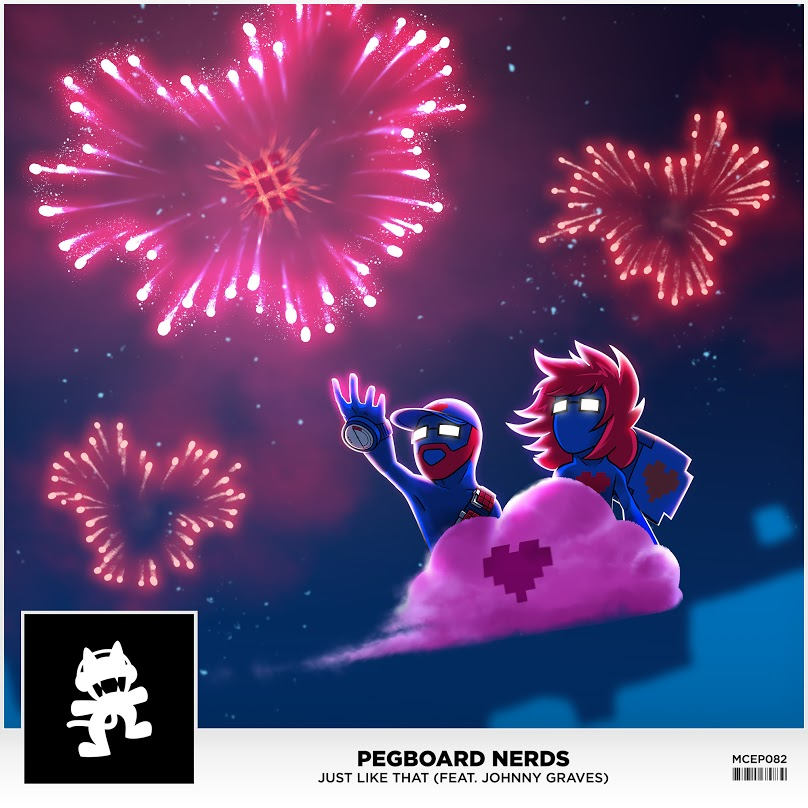 Pegboard Nerds - Just Like That (Single Art)