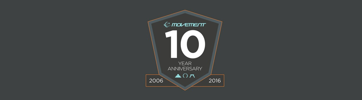 movement- 10 year