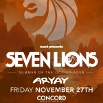 [Event Preview] Seven Lions At Concord Music Hall 11/27