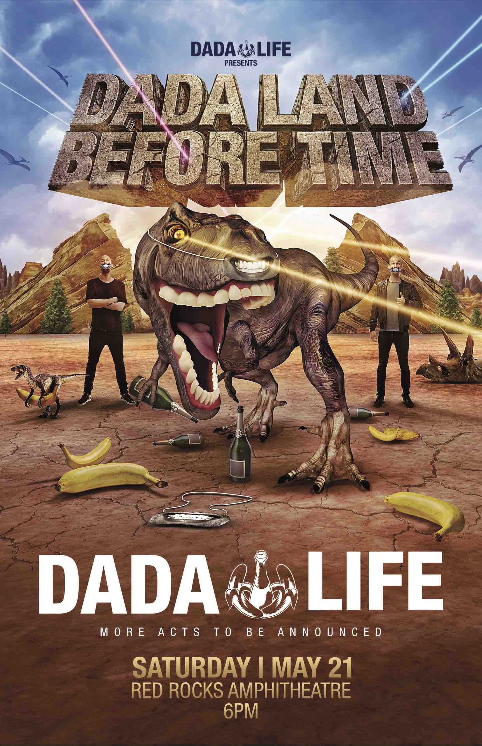 dada land- red rocks