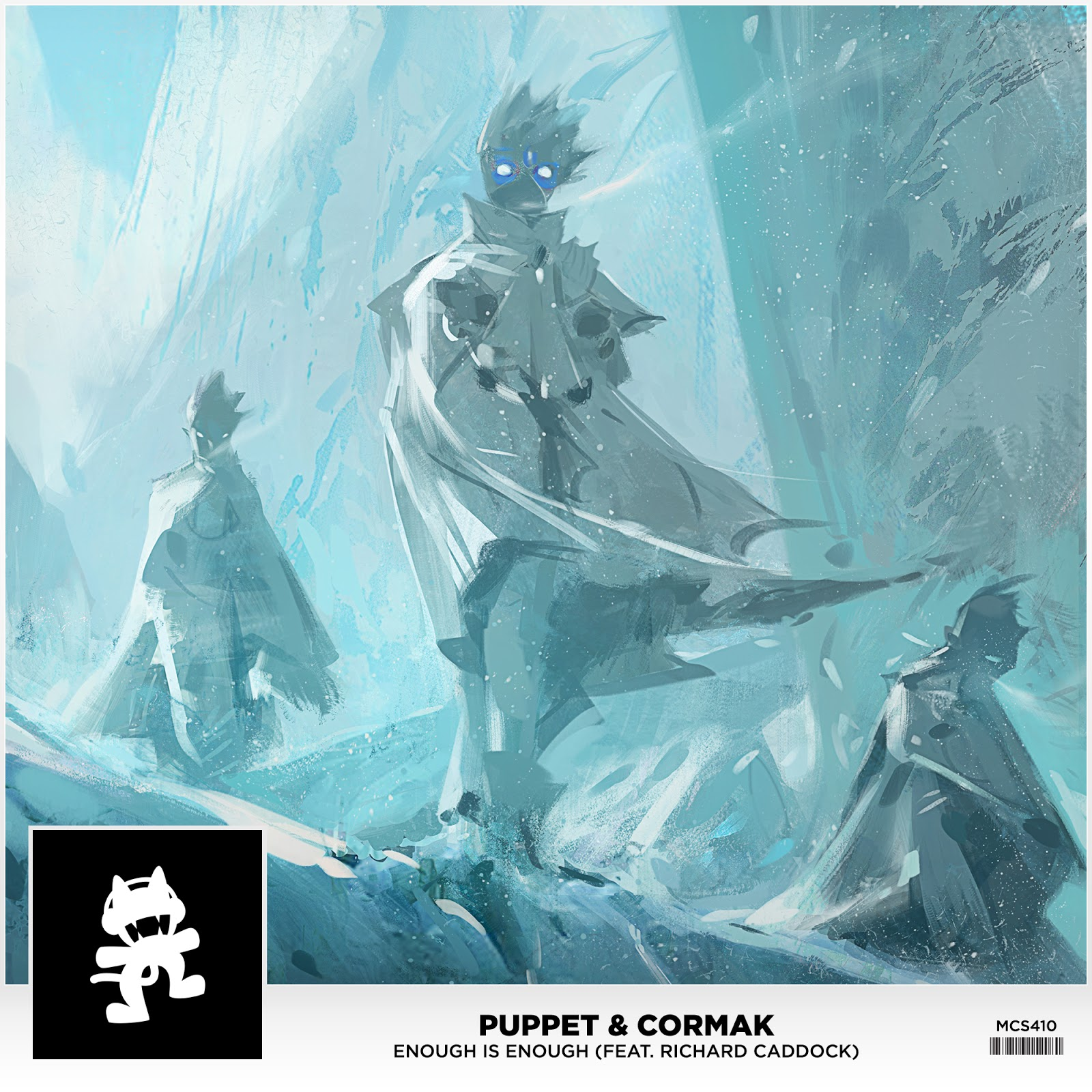 Puppet & Cormak - Enough is Enough (feat. Richard Caddock) (Art)