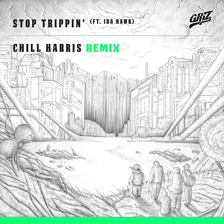 chill harris-griz remix