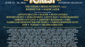 Electric Forest Releases A Huge 2016 Lineup