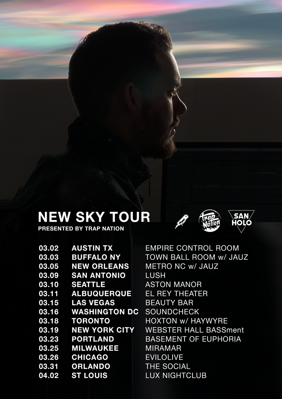 san holo- new sky tour