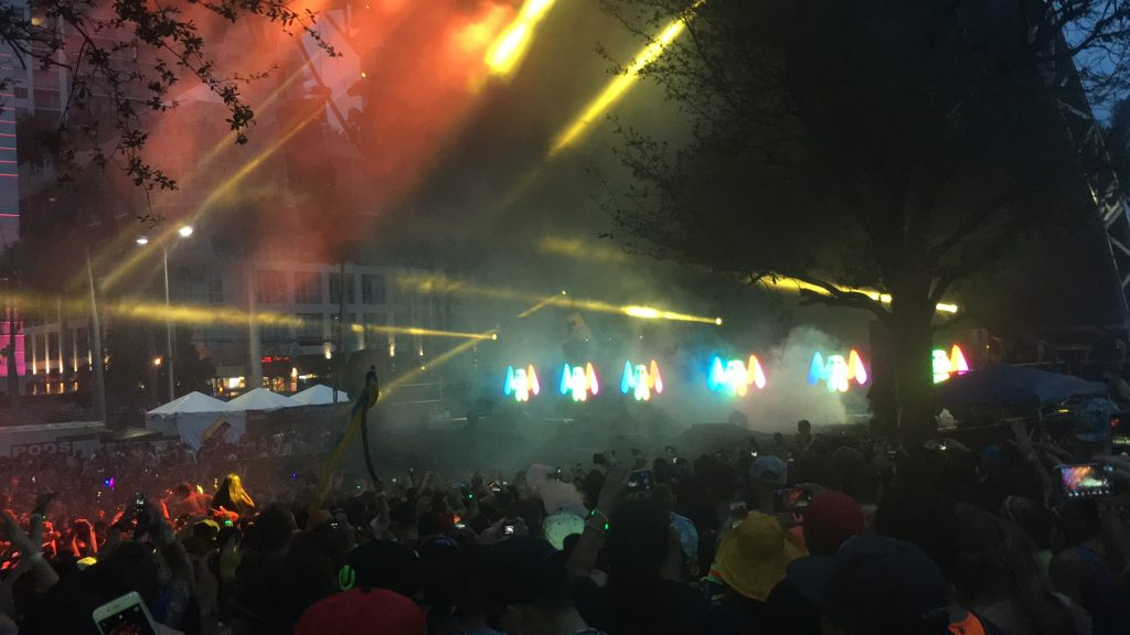Marshmello PErforming