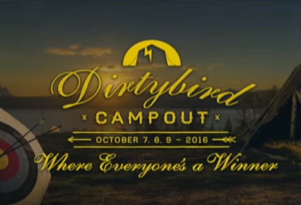 Dirtybird Campout Announcement for 2016