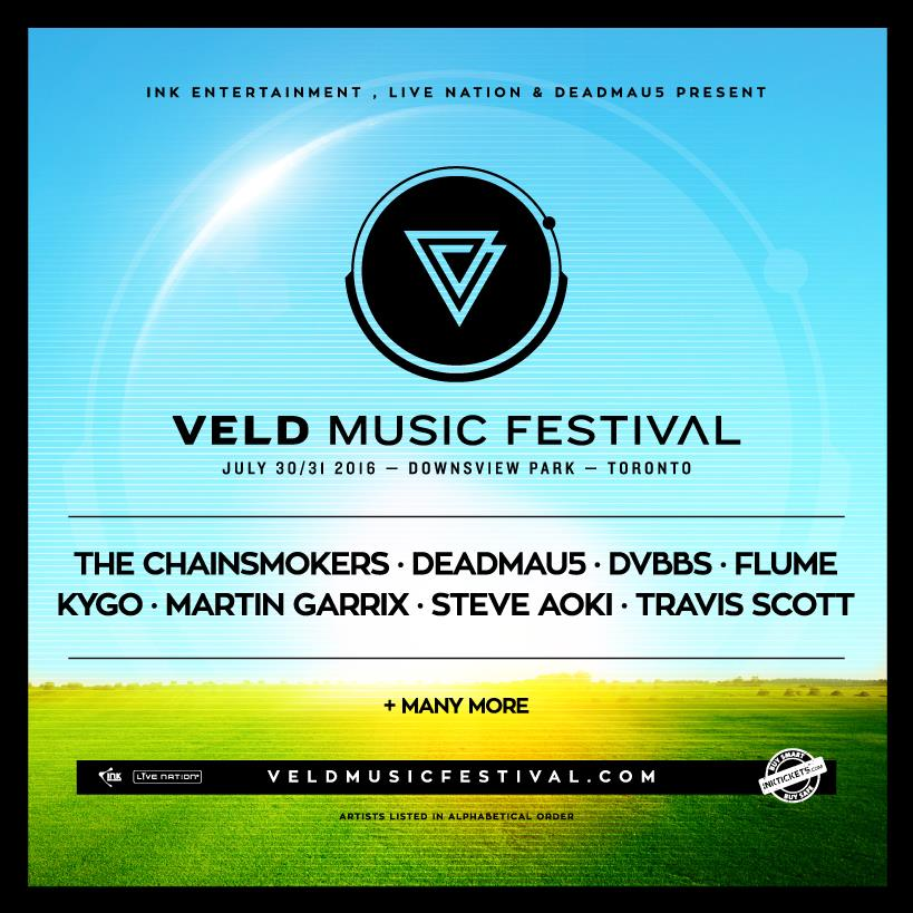 Veld Music Fest Announces Initial Artist and Future Announcements