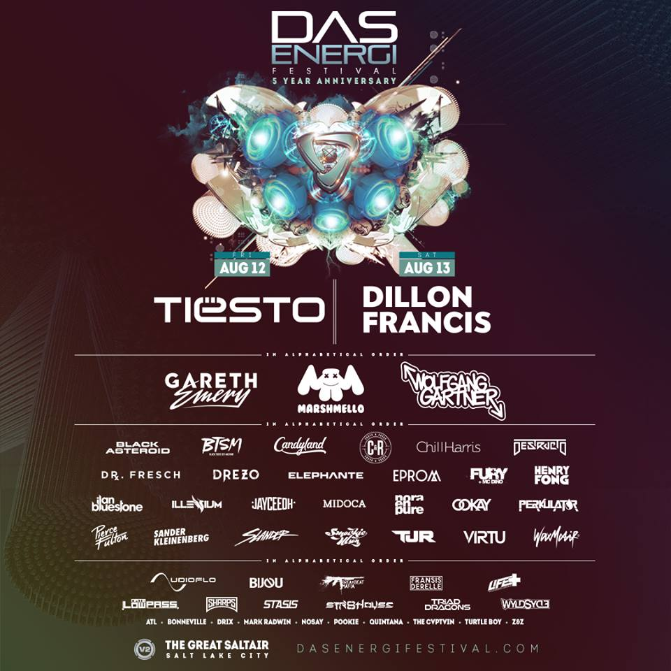 Das Energi Festival Releases The 2016 Lineup