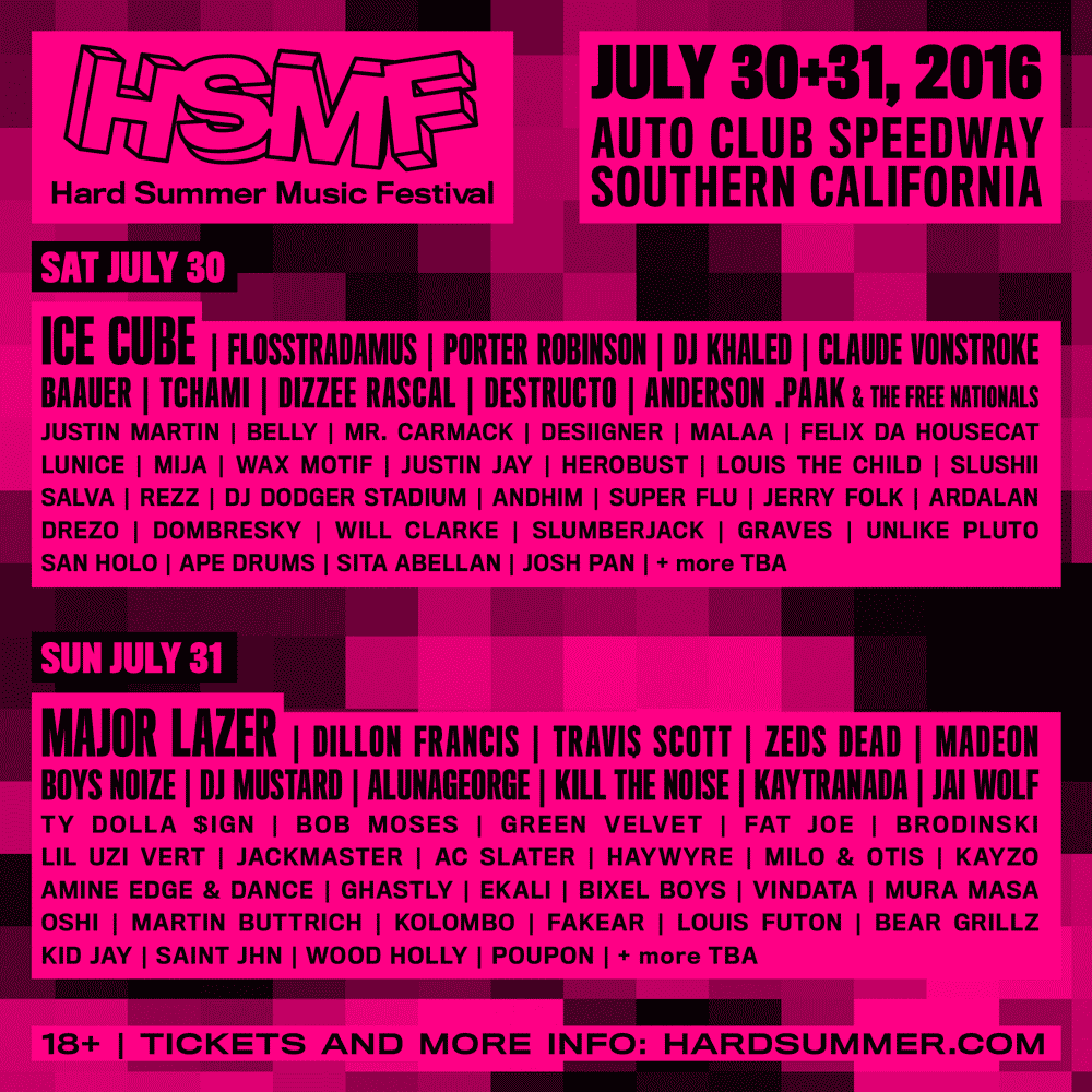 HARD Summer 2016 Drops Huge Lineup and Many Changes