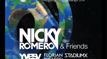"Full Lineup Announced for ""Nicky Romero Presents: Protocol X ADE '16"""