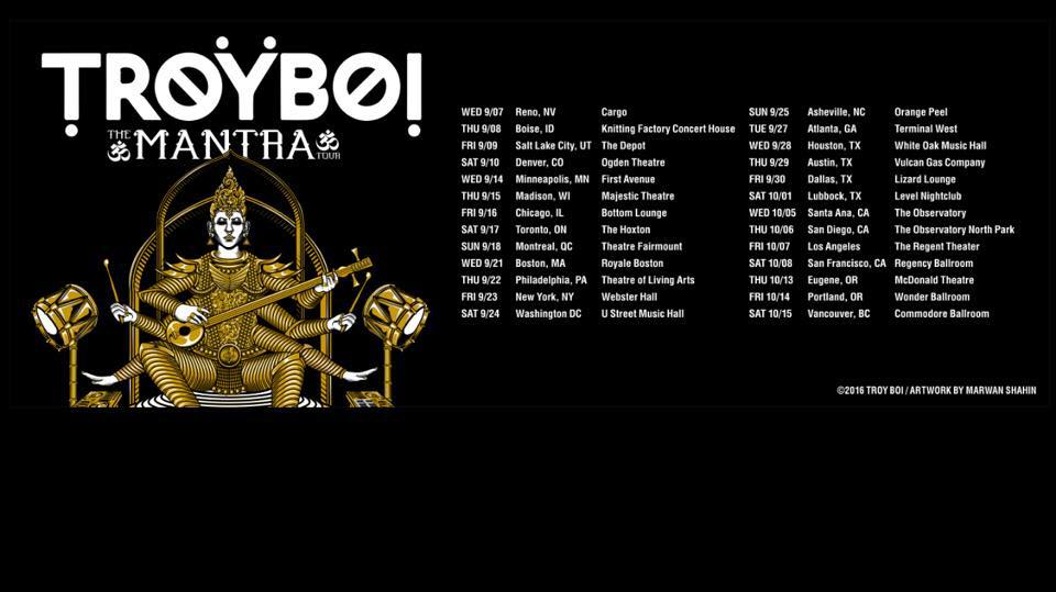 [Event Preview] Troyboi: The Mantra Tour