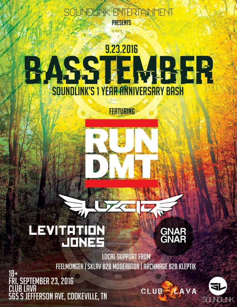 [Event Preview] Basstember: Soundlink Entertainment 1 year anniversary