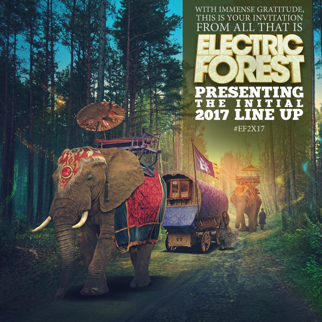 Electric Forest Announces their Initial 2017 Lineups