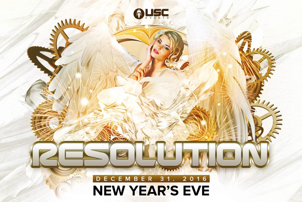 Resolution 2017 Announces a Fantastic New Year's Eve Lineup!