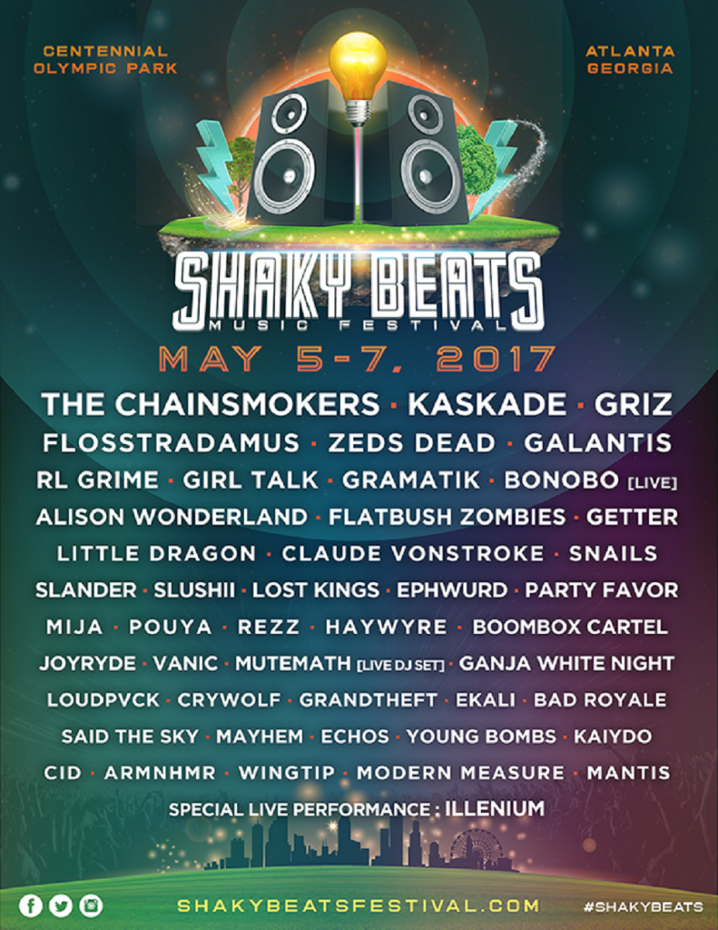 Shaky Beats Announces 2017 Lineup