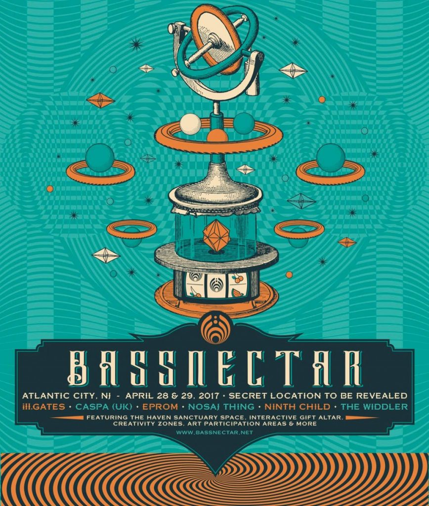 Bassnectar Announces Two Day Festival in Atlantic City at Atlantic City Convention Center