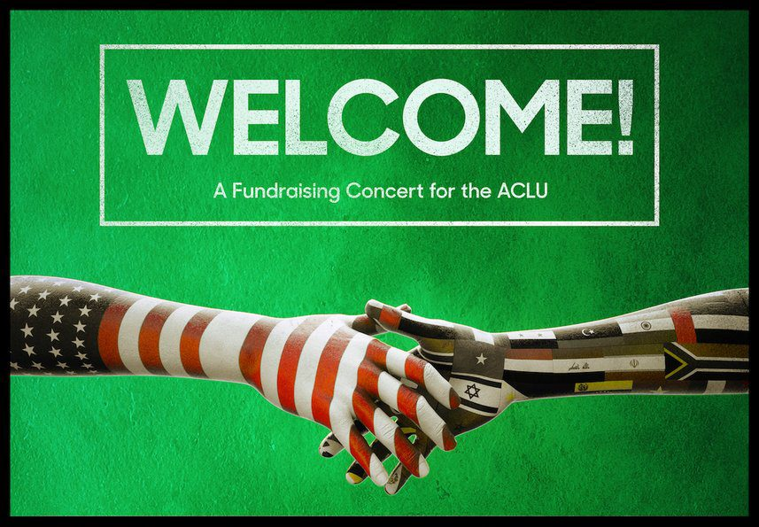 Welcome! – A Fundraising Concert for the ACLU Announces Next Phase of Artists