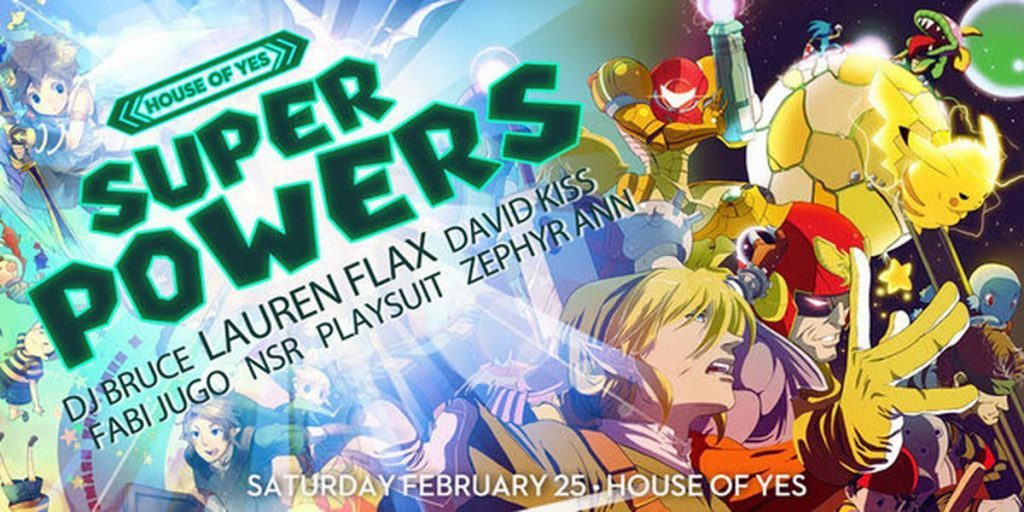 [Event Preview] House of Yes – SuperPowers!