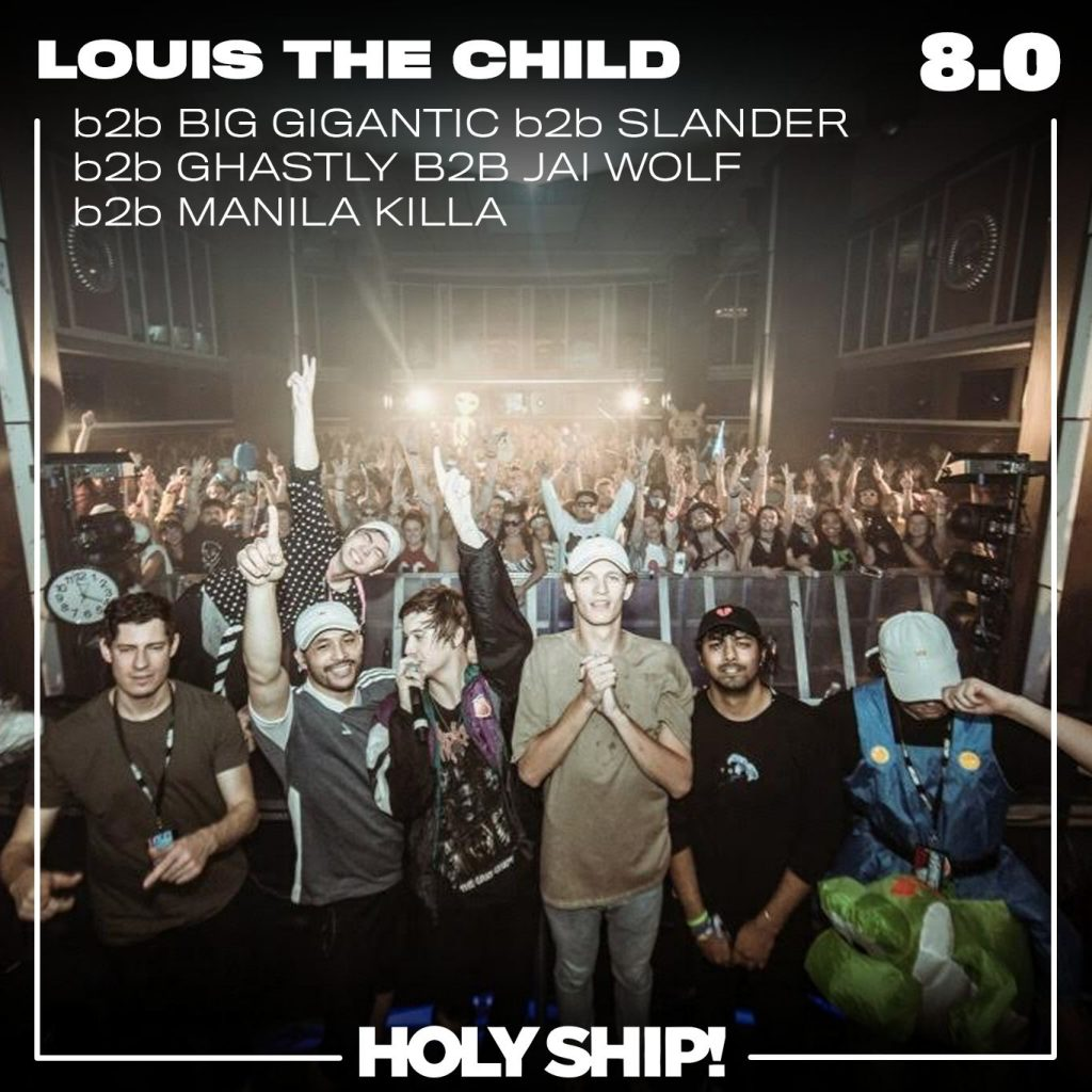 Holy Ship! 2017 – Louis The Child b2b Big Gigantic b2b Slander b2b Ghastly b2b Jai Wolf b2b Manila Killa Live Set