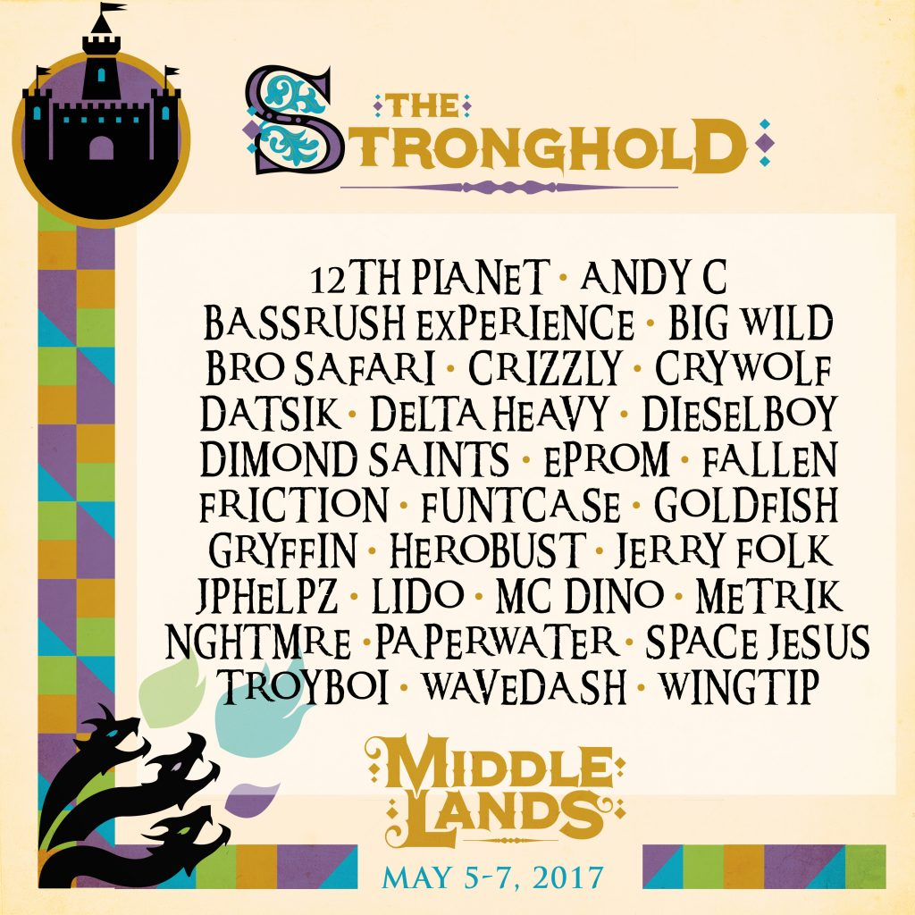 Middlelands Reveals The Stage Lineups for 2017 Festival