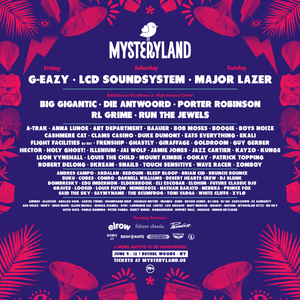 Mysteryland USA Announces Huge 2017 Lineup