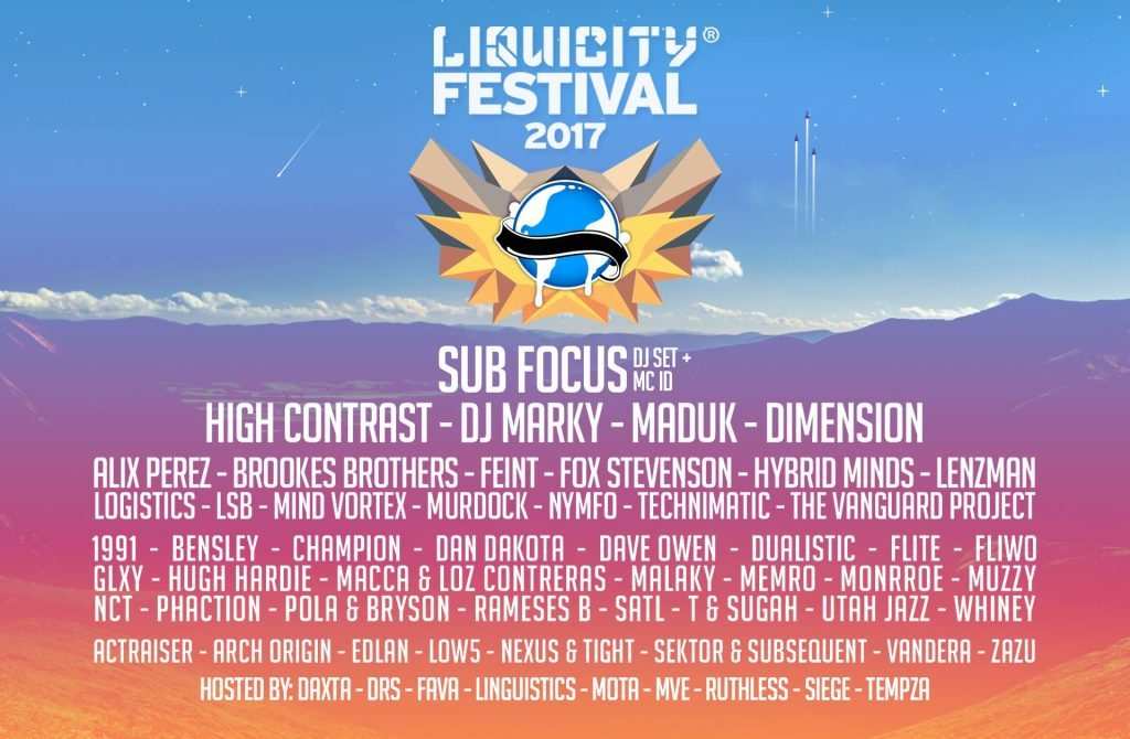 Liquicity Announces Massive Lineup & Two Day Camping Festival
