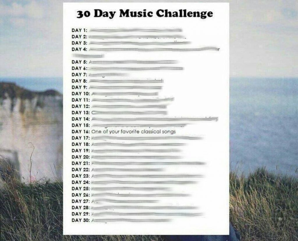 30 Day Music Challenge Day 16