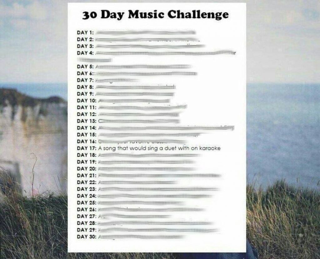 30 Day Music Challenge Day 17