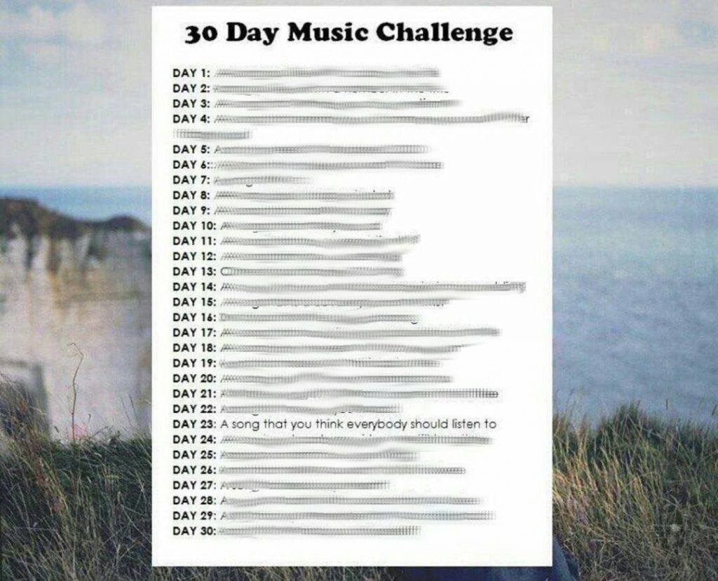 30 Day Music Challenge Day 23