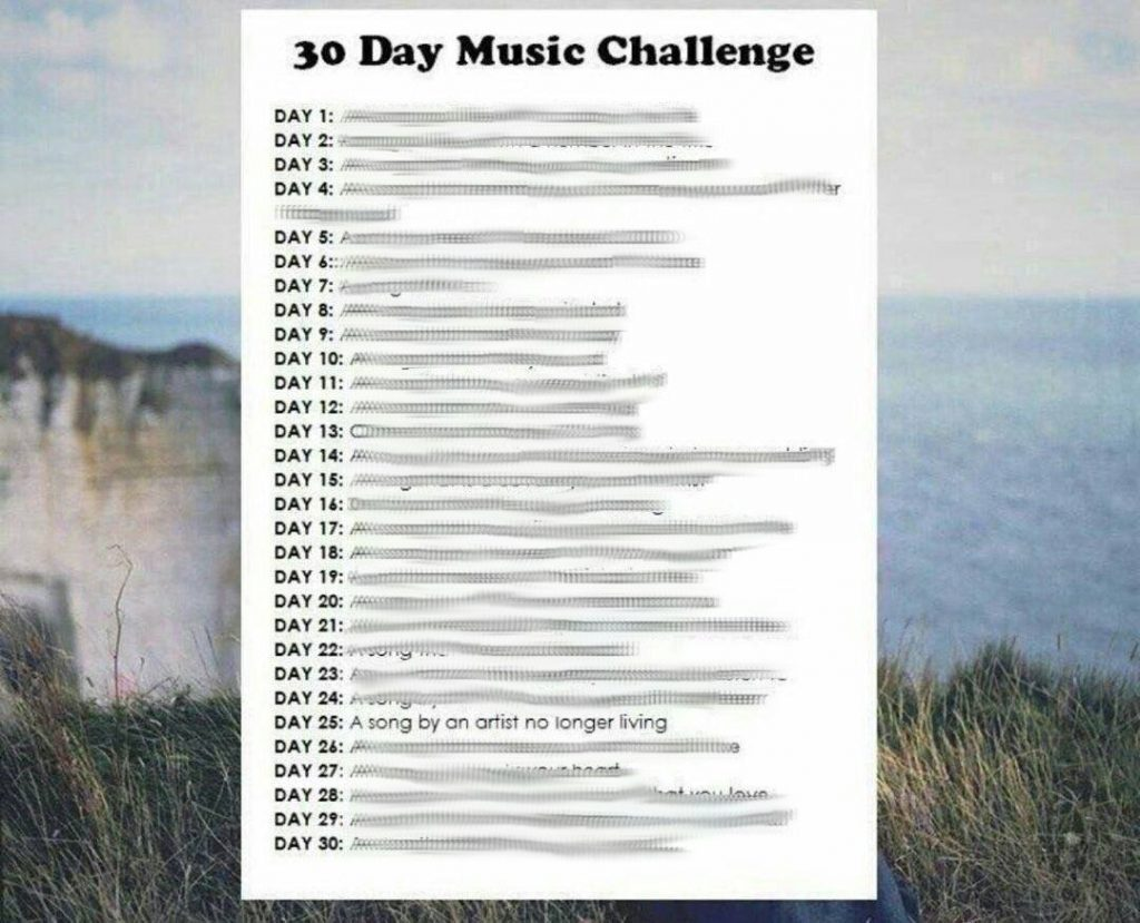 30 Day Music Challenge Day 25