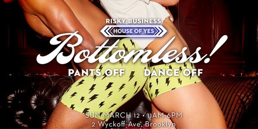 House of Yes Announces 'Bottomless! Brunch Party'