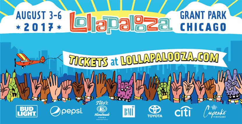Lollapalooza Drops Insane 2017 Lineup